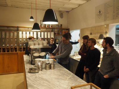 Besuch bei Tostino und Kaffeeverkostung