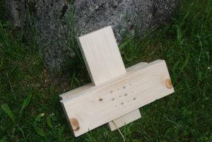 Für die Herstellung der Dachkonstruktion wurde ein Verbindungsdetail ausgearbeitet und in Form eines Prototyps hergestellt