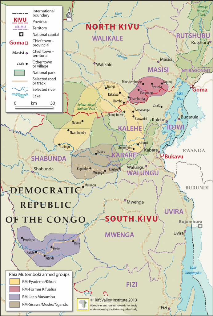 """Armed Groups in the Eastern Congo"" von Rift Valley Institute unter CC – BY – NC - ND"