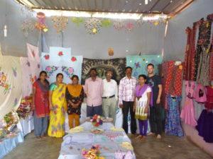 Bastelraum in der Indira Gandhi Academy