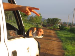 Fabi hat sich als Chauffeur bewährt.