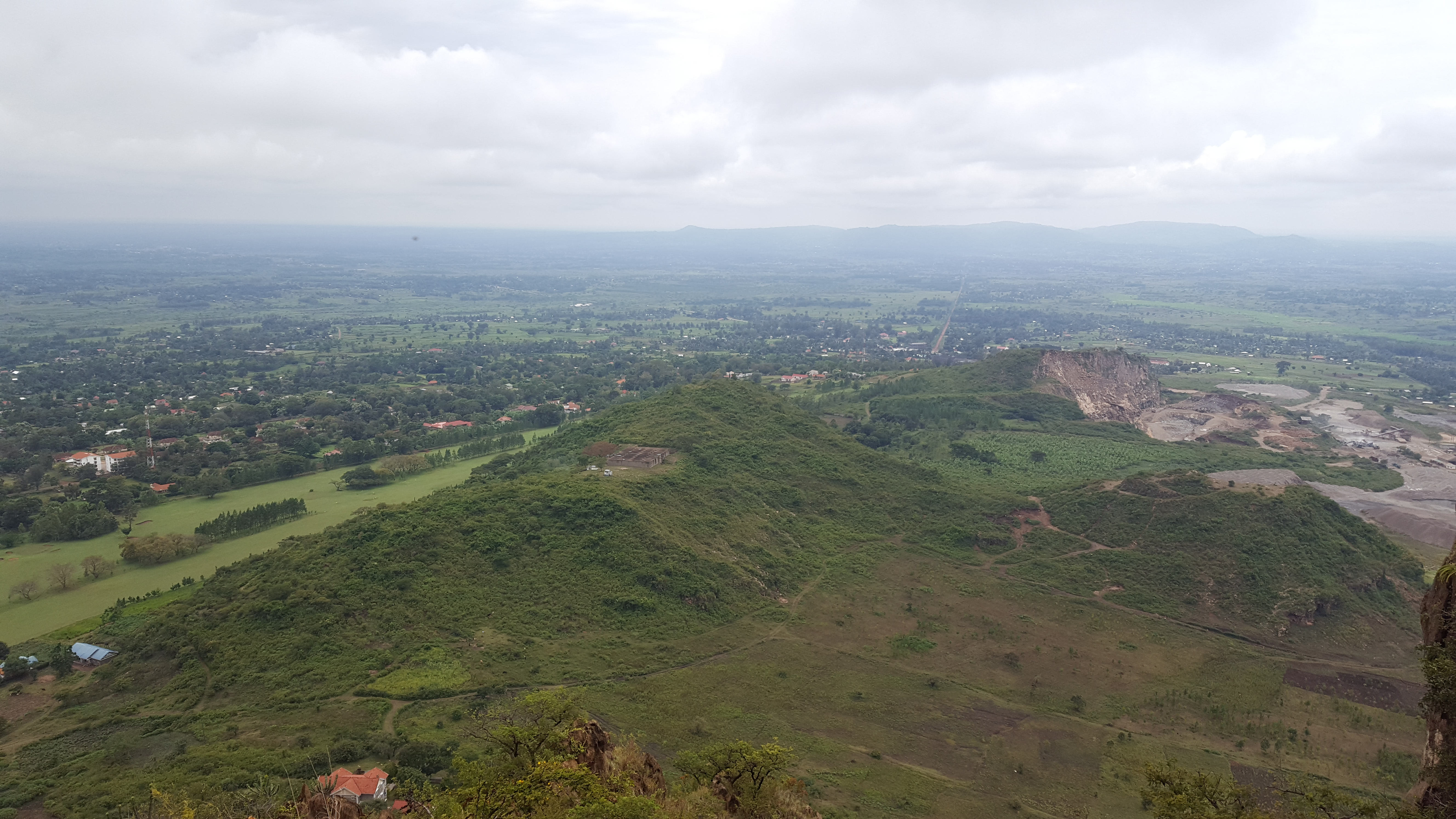 Ausblick vom Tororo-Rock