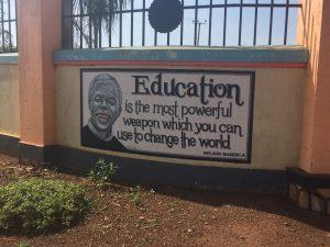 Das Schulmotto unterstützen wir voll und ganz