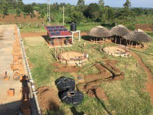 Ausgraben der Provisorien und Freilegen der Leitungen
