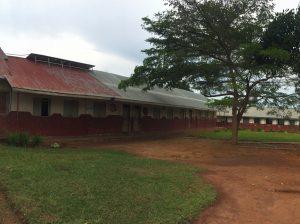 Ein Teil der Schule in Ssama