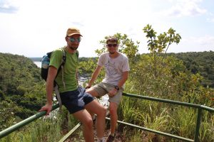 Henning und Philip im Murchison Nationalpark