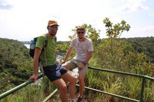 Henning und Philip im Murchison Nationalpark