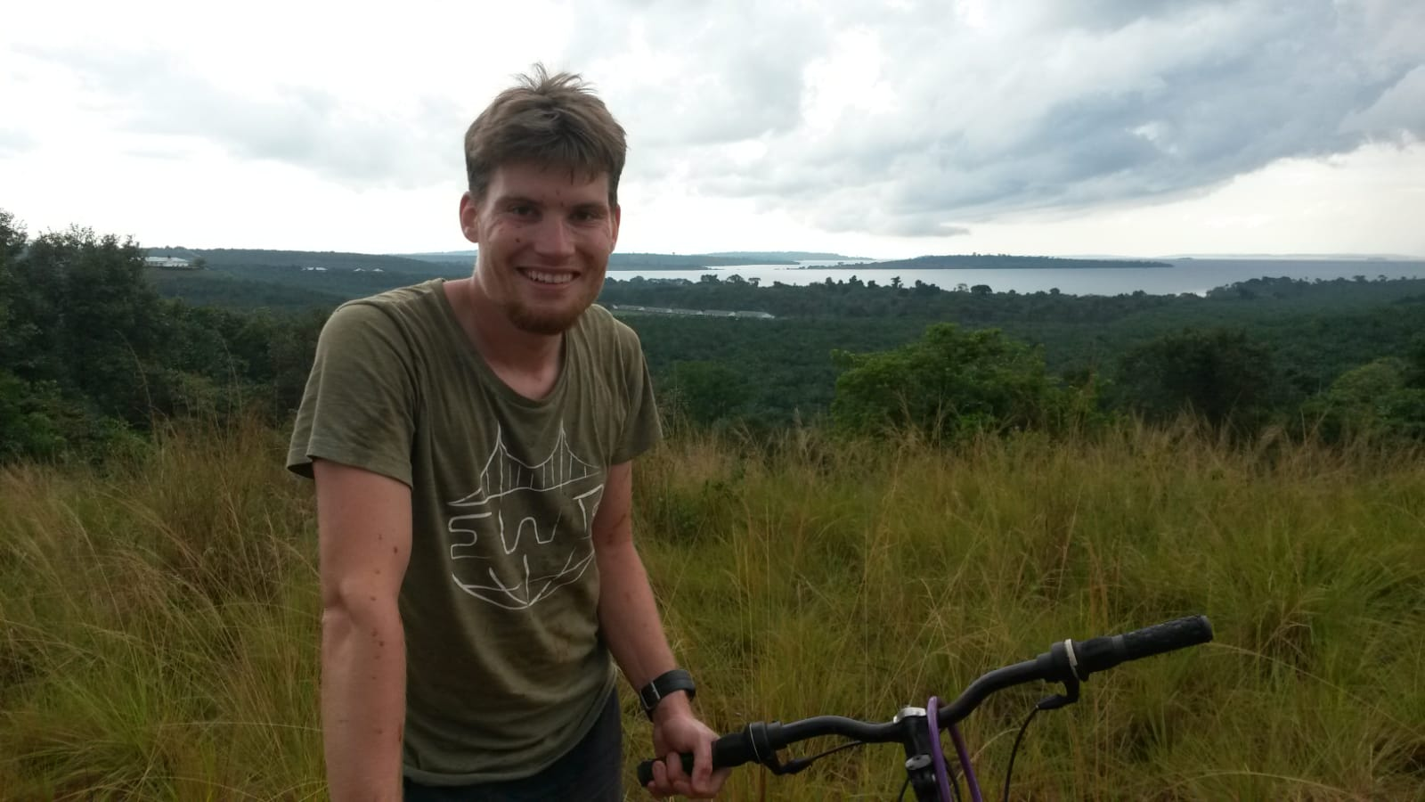 Mit dem Fahrrad kann man die Ssese Islands sehr gut erkunden
