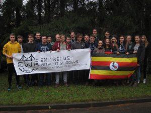 Das Team Uganda