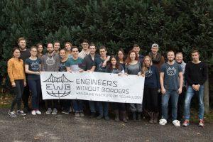 Gruppenbild am Hüttenwochenende 2017