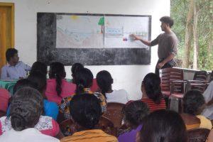 Information der Dorfbewohner
