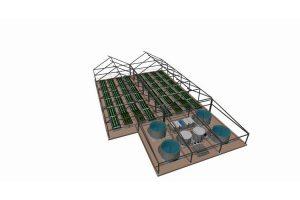 3-D Modell unserer Anlage